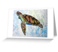 Sea Turtle Dream Greeting Card