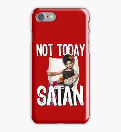 Not Today Satan! iPhone Case/Skin