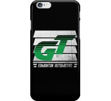 Edmonton Auto - Green & White - Slotted Up iPhone Case/Skin