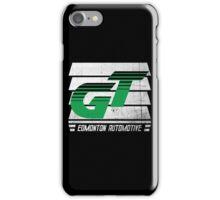 Edmonton Auto - Green & White - Slotted Up iPhone Case/Skin