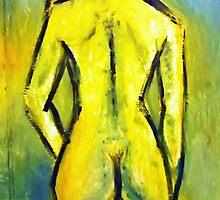 She as the solar brightness by Ehivar Flores Herrera