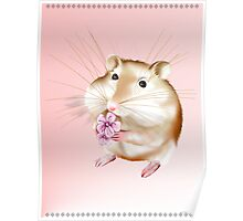 My Little Mouse Poster