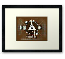 Bill Ci the Triangle Guy Framed Print