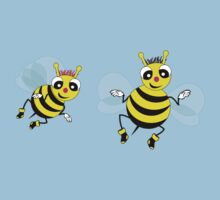 Two cute  little bees  Baby Tee