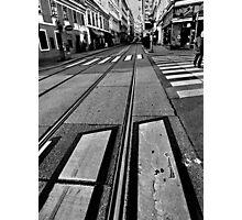 crossings. vienna, austria Photographic Print