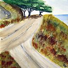 Seaside Road by Patty Vogler