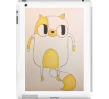 cake the cat iPad Case/Skin