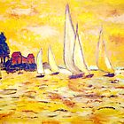 Yellow Sails by Patty Vogler
