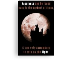 Harry potter: Happiness Canvas Print