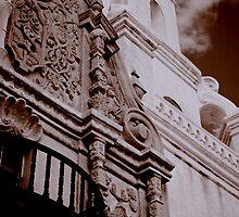 San Xavier Mission - Tucson, Arizona by ShaunaRe