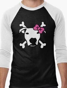 Lita Crossbones Men's Baseball ¾ T-Shirt