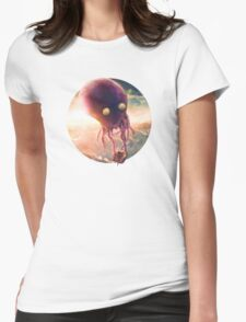 Octopus Riders Womens Fitted T-Shirt