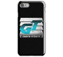 Edmonton Auto - Cyan & White - Slotted Up iPhone Case/Skin
