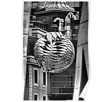 steel fern. wellington, aotearoa Poster