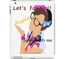 Geek With Me - Tessa Netting iPad Case/Skin