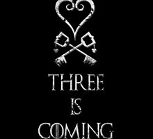 Three is coming by AllMadDesigns