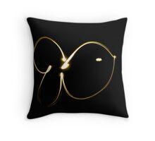 Glub, Glub (Bubble, Bubble) Throw Pillow