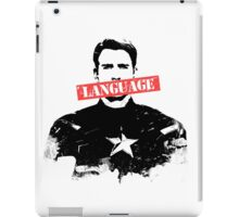 Age of Ultron - Language iPad Case/Skin