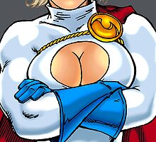 Power Girl Boobs by twogargs