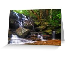 Somersby Falls Greeting Card