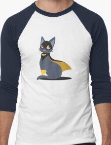 BatKitty Men's Baseball ¾ T-Shirt