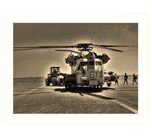 Off to War Art Print