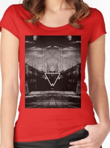 Look in the Mirror Women's Fitted Scoop T-Shirt