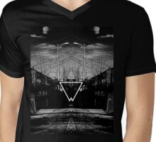 Look in the Mirror Mens V-Neck T-Shirt