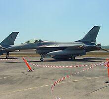 american f16 fighter by bunji