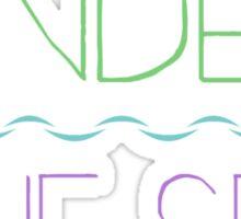 """""""Under the Sea"""" Sticker"""