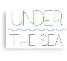 """Under the Sea"" Canvas Print"