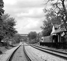 Historic Marietta Train Depot by trwphotography