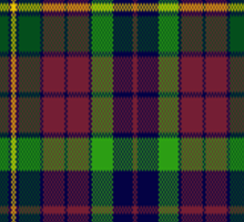 00309 Clare County Tartan  Sticker