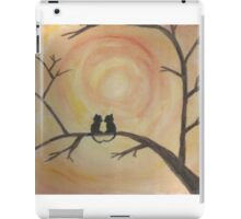 Kittens in love during the sunrise iPad Case/Skin