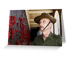Anzac - Remembering Those Lost 1a Greeting Card