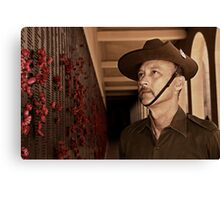 Anzac - Remembering Those Lost 1b Canvas Print