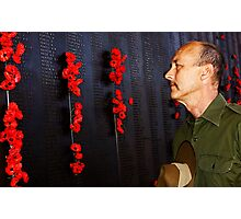 Anzac - Remembering Those Lost 2 Photographic Print