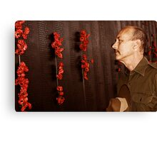 Anzac - Remembering Those Lost 2a Canvas Print