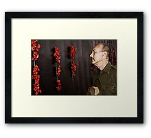 Anzac - Remembering Those Lost 2b Framed Print