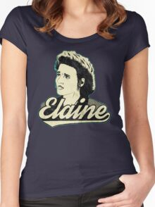 Elaine Benes. Women's Fitted Scoop T-Shirt