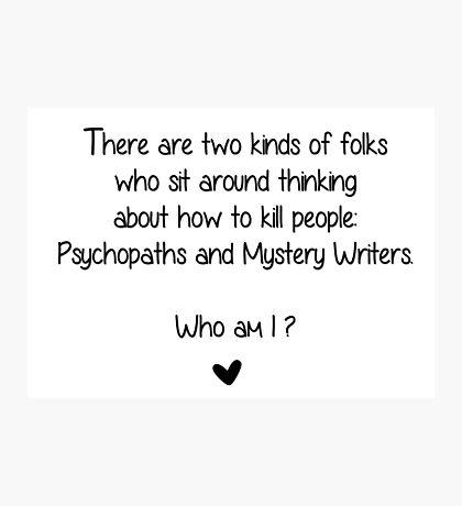 Who am I?  Photographic Print