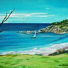 Beach View. Seals Rocks, Australia by Linda Callaghan