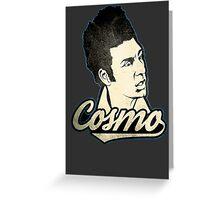 Cosmo Kramer. Greeting Card