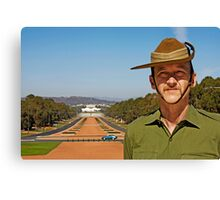 Anzac - Anzac Parade to Parliment House Canvas Print