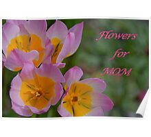 Flowers for Mom Poster
