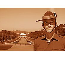 Anzac - Anzac Parade to Parliment House b Photographic Print