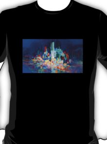 Sydney Harbor Skyline at night 1.0 T-Shirt