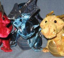 Three Dragons Sticker