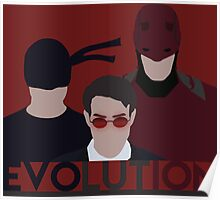 DareDevil 2015 Tv Show - EVOLUTION Poster