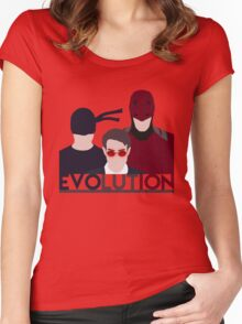 DareDevil 2015 Tv Show - EVOLUTION Women's Fitted Scoop T-Shirt